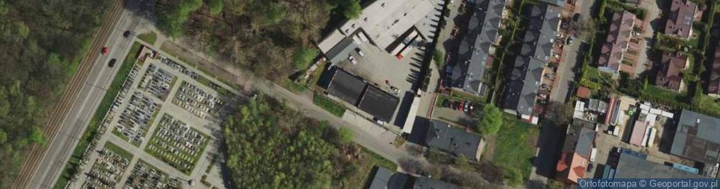 Zdjęcie satelitarne Chropaczowska ul.