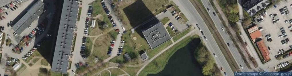 Zdjęcie satelitarne Chłopska ul.