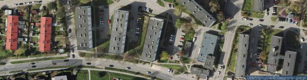 Zdjęcie satelitarne Chwarznieńska ul.
