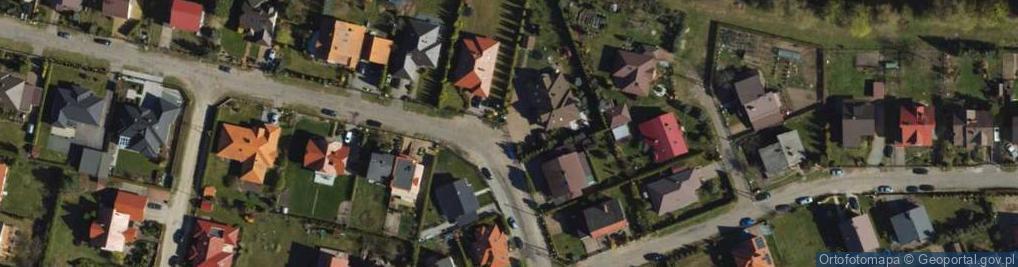 Zdjęcie satelitarne Chryzantemowa ul.