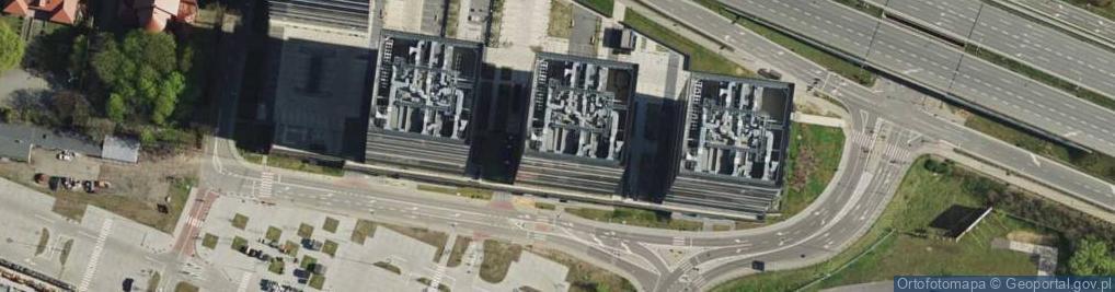 Zdjęcie satelitarne Chorzowska ul.