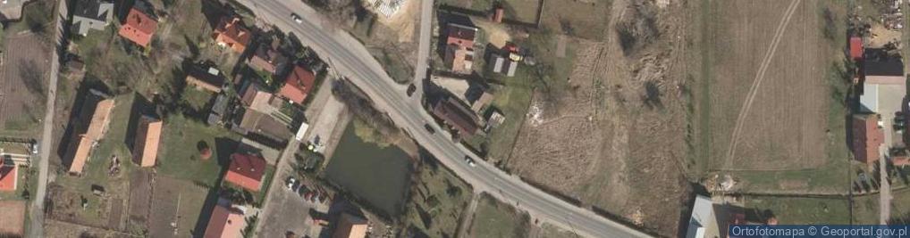 Zdjęcie satelitarne Chocianowska ul.