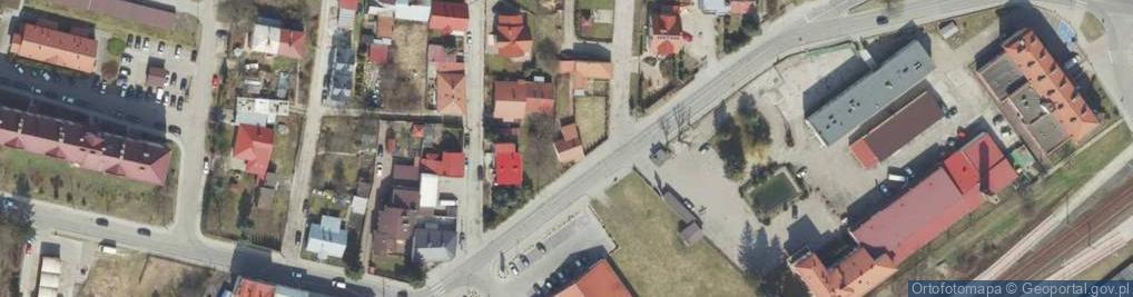Zdjęcie satelitarne Chodźki Ignacego ul.