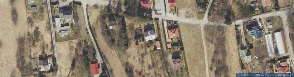 Zdjęcie satelitarne Chrzanowskiej Zofii ul.