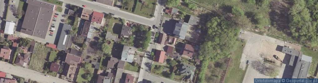Zdjęcie satelitarne Chłodna ul.