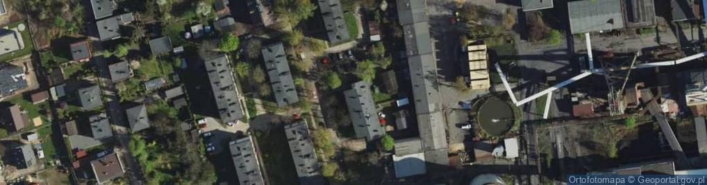 Zdjęcie satelitarne Chroboka Maksymiliana ul.