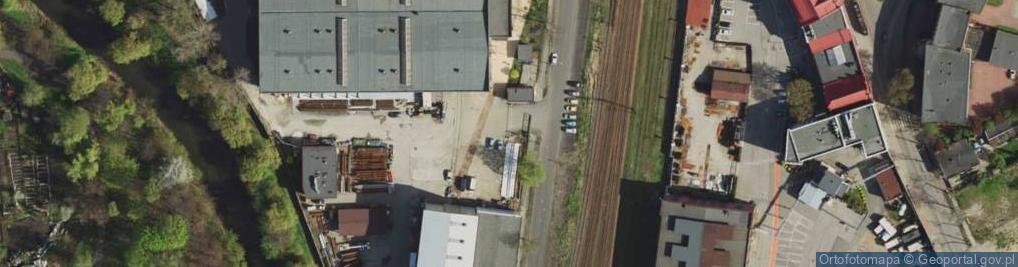 Zdjęcie satelitarne Chemiczna ul.