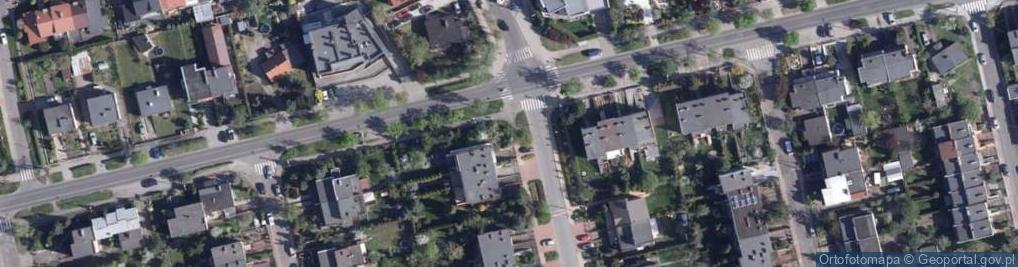 Zdjęcie satelitarne Chabrowa ul.
