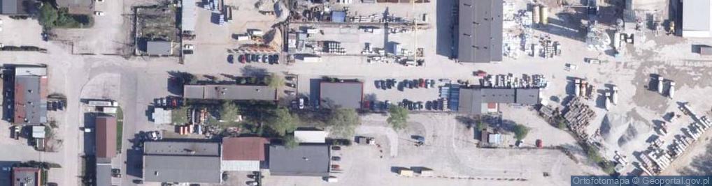 Zdjęcie satelitarne Chrzanowskiego Józefa ul.