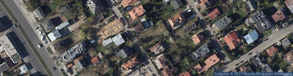 Zdjęcie satelitarne Chorągwi Pancernej ul.