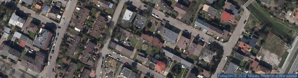 Zdjęcie satelitarne Chojnowska ul.