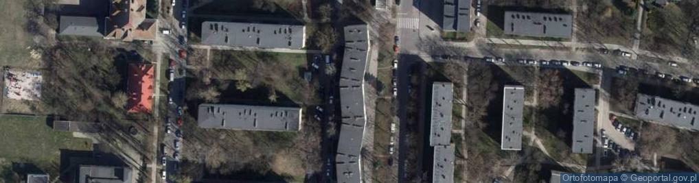 Zdjęcie satelitarne Cieszkowskiego Augusta ul.