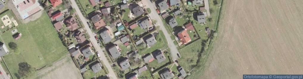 Zdjęcie satelitarne Cisów ul.