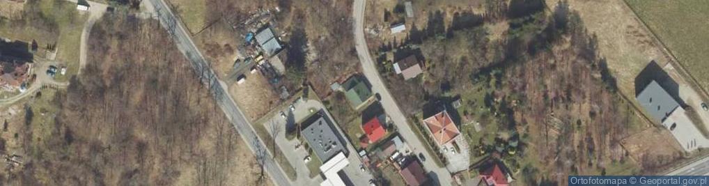 Zdjęcie satelitarne Cicha ul.