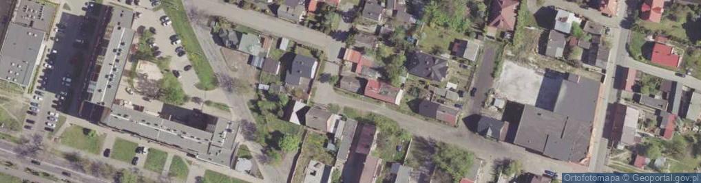 Zdjęcie satelitarne Ciesielska ul.