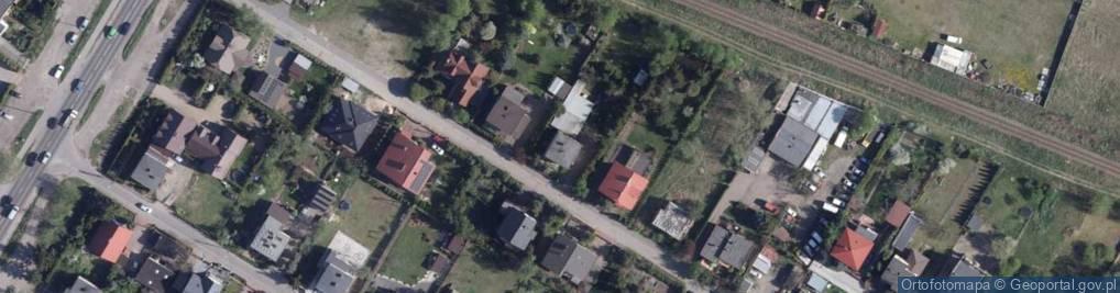 Zdjęcie satelitarne Ciechanowska ul.