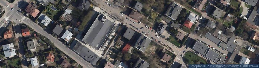 Zdjęcie satelitarne Cierlicka ul.