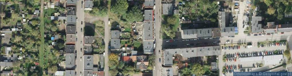 Zdjęcie satelitarne Cieszyńska ul.