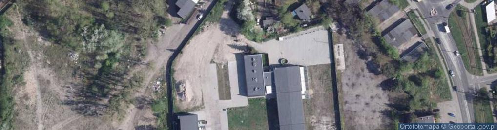 Zdjęcie satelitarne Curie Piotra ul.