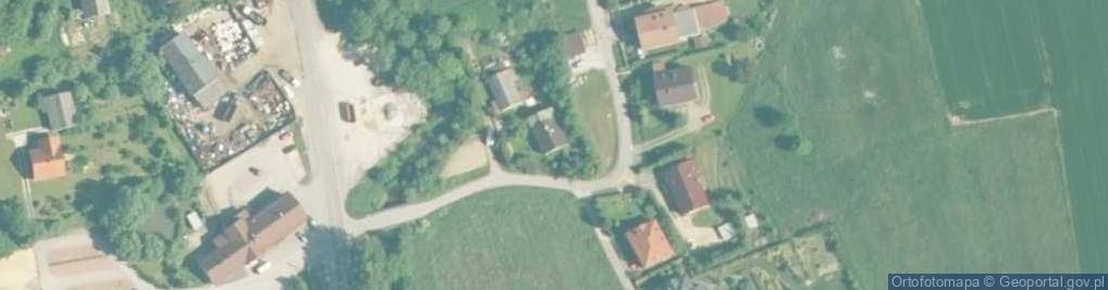 Zdjęcie satelitarne Cyprysowa ul.