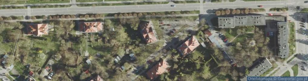 Zdjęcie satelitarne Czackiego Tadeusza ul.
