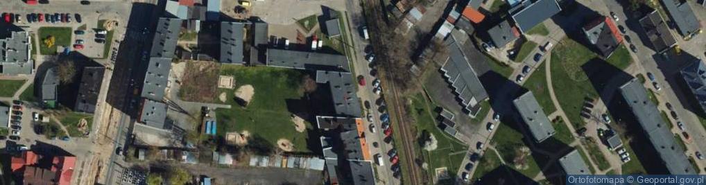 Zdjęcie satelitarne Czerwonodworna ul.