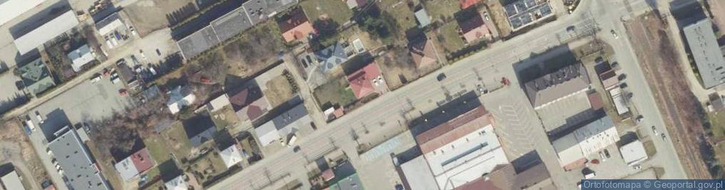 Zdjęcie satelitarne Czajkowskiego Feliksa ul.