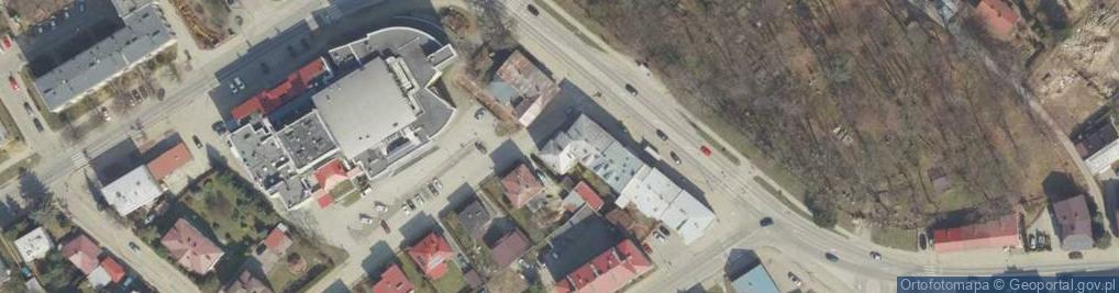 Zdjęcie satelitarne Czuchry Józefa ul.