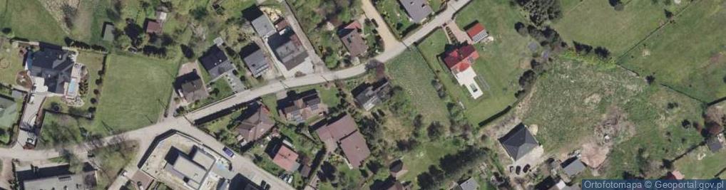 Zdjęcie satelitarne Czereśniowa ul.