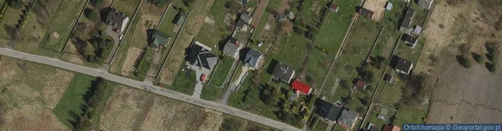 Zdjęcie satelitarne Czarnej Przemszy ul.