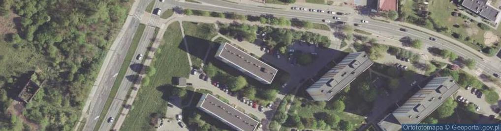 Zdjęcie satelitarne Czarnoleska ul.