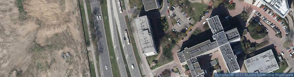 Zdjęcie satelitarne Czerniakowska ul.