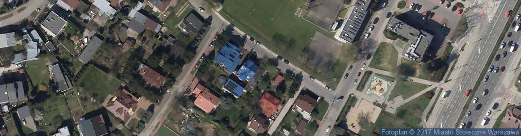 Zdjęcie satelitarne Czarna Droga ul.