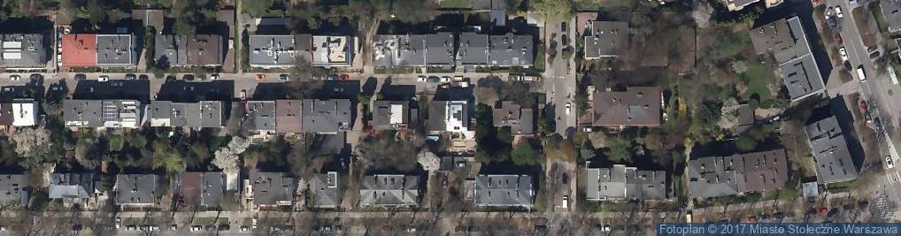 Zdjęcie satelitarne Czeska ul.