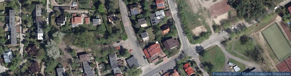 Zdjęcie satelitarne Czekanowska ul.