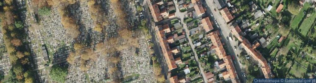 Zdjęcie satelitarne Czołgistów ul.