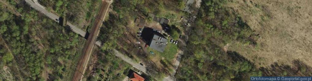 Zdjęcie satelitarne Dąbrowa Miejska ul.