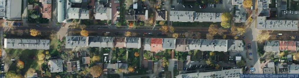 Zdjęcie satelitarne Dąbkowskiego ul.