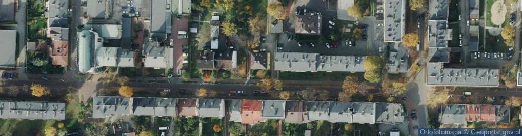 Zdjęcie satelitarne Dąbkowskiego Mieczysława, gen. ul.