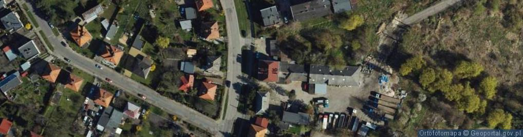 Zdjęcie satelitarne Dąbrowskiego ul.