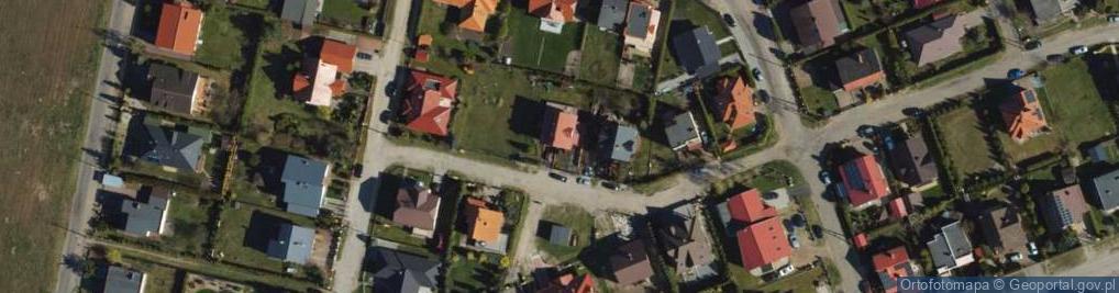 Zdjęcie satelitarne Daliowa ul.