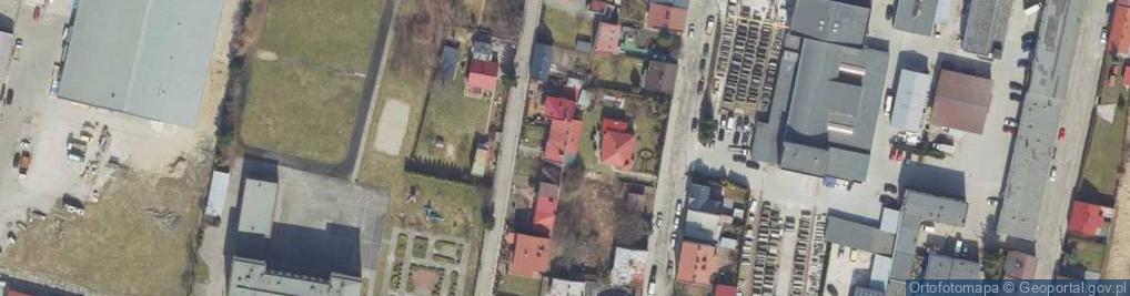 Zdjęcie satelitarne Dąbrowskiego Henryka, gen. ul.