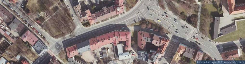 Zdjęcie satelitarne Dąbrowskiego Jarosława, gen. ul.