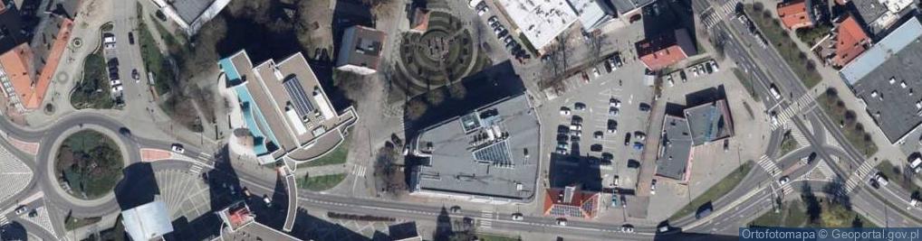 Zdjęcie satelitarne Daszyńskiego ul.