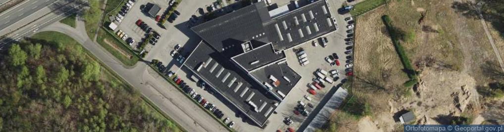 Zdjęcie satelitarne Daimlera Gottlieba ul.