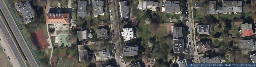 Zdjęcie satelitarne Dąbrowiecka ul.