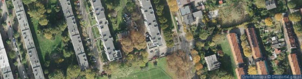 Zdjęcie satelitarne Damrota Konstantego, ks. ul.