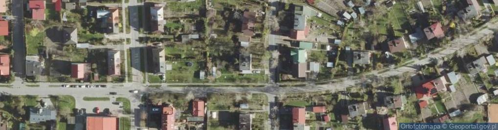 Zdjęcie satelitarne Dembowskiego Edwarda ul.