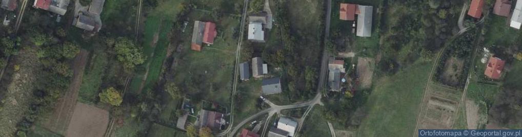 Zdjęcie satelitarne Dębów ul.