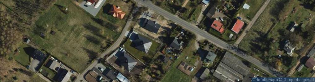 Zdjęcie satelitarne Dębowa ul.